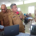 Bupati Kubu Raya Launching Bank Sampah Maju Jaya Desa Parit Baru